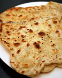 Quick and Easy: Flatbread.  I wonder if it's as good as na'an?