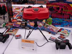 Virtual Boy - console and games