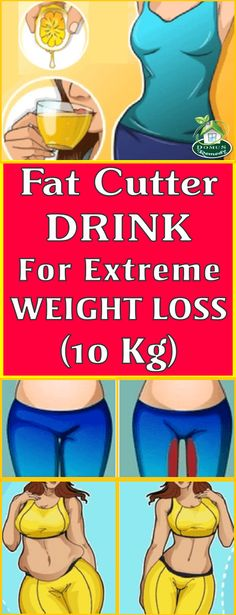 Fat Cutter Drink, For Extreme Weight Loss Naturally