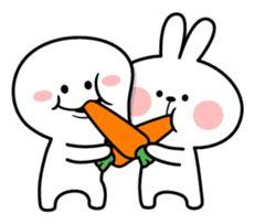 Hi, I'm Smile Person. Cute Emoji Wallpaper, Cute Love Gif, Cartoons Love, Cute Doodles, Line Sticker, Cute Memes, Kawaii Cute, Cute Characters, Cute Bunny