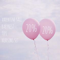 "VALENTINE SALE 💕 20% ON EVERYTHING — Happy Valentine to you!  LUXURY BABYNEST FAIRYTALE TIPI TENTS WOOL NURSING SET  Use code ""VALENTINE"""