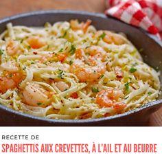 Shrimp Scampi Linguine, Shrimp Pasta, How To Cook Shrimp, How To Cook Pasta, Scampi Recipe, American Dishes, Shrimp Recipes, Pasta Dishes, Macaroni And Cheese