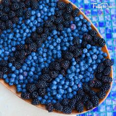 Blueberries  & Blackberries platter  Design