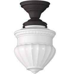 Jefferson 4in Semi Flush Classic Flush Ceiling Fixture A0561
