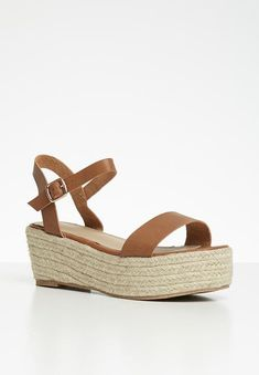Julie espadrille flatform - tan Superbalist Heels | Superbalist.com Open Toe, Two By Two, Espadrilles, Footwear, Heels, Espadrilles Outfit, Heel, Shoe, Open Toe Shoes