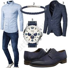 Business-Outfit mit Hemd, Jeans und Sakko (m0977) #hemd #jeans #fossil #moderno #sakko #armband #uhr #outfit #style #herrenmode #männermode #fashion #menswear #herren #männer #mode #menstyle #mensfashion #menswear #inspiration #cloth #ootd #herrenoutfit #männeroutfit