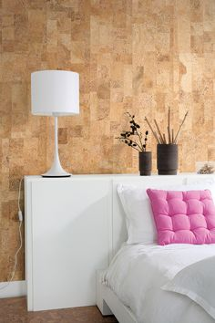 Cork wall by Real Cork Floors. Not many people are aware how sustainable  and energy