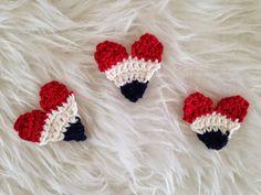 Holland hartjes gemaakt door Draad en Praat Klik hier voor het haakpatroon