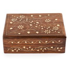 Rusticity Wood Jewelry Box Organizer Decorative | Handmade | (7x5 in) *** Click on the image for additional details. (This is an affiliate link) #DecorativeAccessories