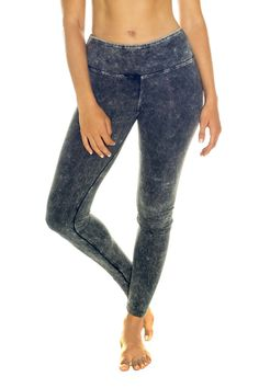 Stonewash Organic Cotton Leggings