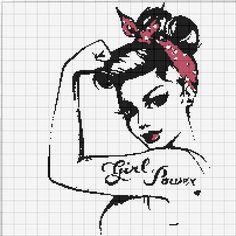 Dziewczyna z Tatuażem + Bandamka we Włosach