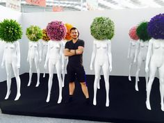 my flower army for world federation of rose societies in beijing china #timoboltefloraldesign #luxuryflowers #flowers #floralfashion #flowercrown #bridalwork #wedding #floraldesign