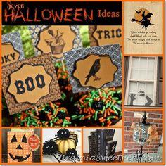 Halloween Ideas from virginiasweetpea.com