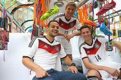 Adidas presenta la camiseta de Alemania para Brasil 2014