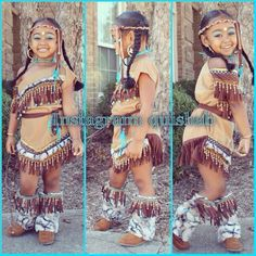 Indian, Pocahontas, costume, kids, new