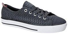 Converse  Chuck Taylor All Star High Line Ox, Chaussures femme - gris - Anthracite / Blanc, 40.5 EU - Chaussures converse (*Partner-Link)