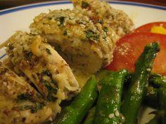 Christine Cooks: Chevre-Pesto Stuffed Chicken Breasts