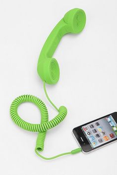 Pop Phone Handset - I NEED this... OK, ok - I WANT THIS!