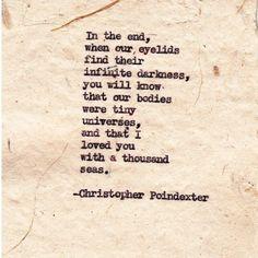 """""""Their tears were their love"""" series Poem #2"""