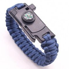 Arts,crafts & Sewing 5pcs Plastic Paracord Bracelet Buckle Compass Whistle Led Light Outdoor Survival Camping Emergency With Backpack Bracelet Price Remains Stable