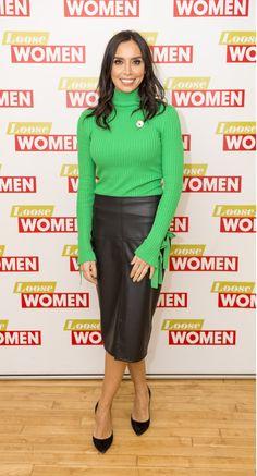 e755795ad7517 Christine Bleakley, Nice Legs, Elegant Woman, Famous Women, Beautiful  Celebrities, Her