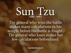 General Quotes - Sun Tzu | Inspiration Boost | Inspiration Boost
