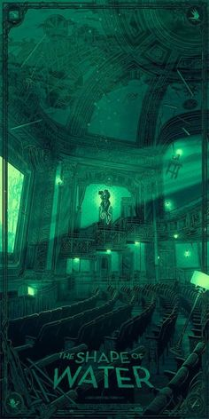 The Shape of Water Movie Poster The Shape Of Water, Great Films, Good Movies, Water Poster, Alternative Movie Posters, Movie Poster Art, Film Serie, Cool Posters, Illustrations And Posters