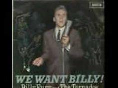 BILLY FURY SINGING IN MY ROOM