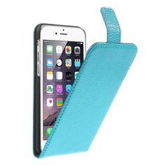 Köp Real Leather Flipcase Apple iPhone 6 blå online: http://www.phonelife.se/real-leather-flipcase-apple-iphone-6-bla
