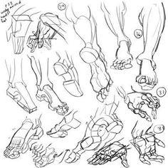 ©  - MINI STAGE : dessiner la main et le pied : morphologie, attitudes, mouvements