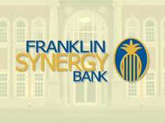 We love Franklin Synergy Bank!  We love their logo and branding too!