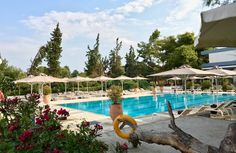 The Kassandra Mare Hotel & Spa Club offers the perfect holiday atmosphere to those seeking the perfect balance between comfort and natural beauty. Greece Hotels, Hotel Spa, Natural Beauty, Club, Outdoor Decor, Holiday, Nature, Vacations, Naturaleza