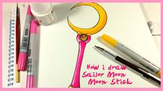 How i draw: Sailor Moon - Moon Stick