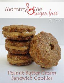 Peanut Butter Cream Sandwich Cookies