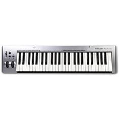 M-Audio KeyStudio MIDI 49-Key Keyboard | MIDI Keyboards - Store DJ