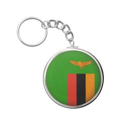 Shop Round Zambia Keychain created by WorldButtons. Zambia Flag, Political Events, Custom Buttons, Flags, Cool Designs, Personalized Items, Gifts, Presents, National Flag