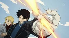 Riza Hawkeye and Roy Mustang from Fullmetal Alchemist Brotherhood
