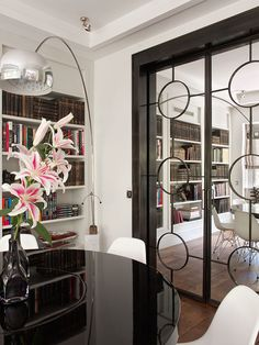 Love the doors! Design by Isabel Lopez Quesada