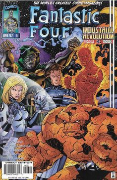 "Doctor Doom, Super-Skrull Pt.3 ""Retribution!"" Industrial Revolution Prologue __Story by Jim Lee and Brandon Choi. Art And Cover by Jim Lee and Scott Williams , The Story __As the Super Skrull turns on"