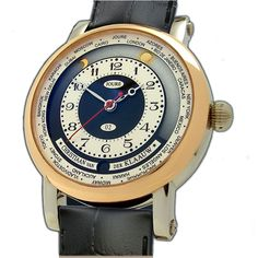 Christiaan Van Der Klaauw часы Astronomical Collection Satellite du Monde