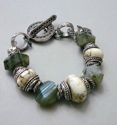 Myth with Magnesite, Labradorite and Silver