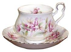 Royal-Albert-Sonnet-Series-Chaucer-Tea Cup and Saucer Set