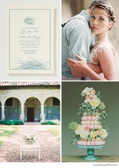 Pretty Parisian Vows