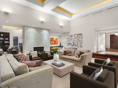 A real estate listing for the property describes 'timelessly sophisticated vast formal and...