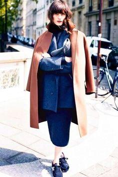 最百搭: Oversize 大衣  薄款大衣