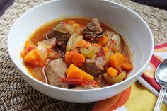 River North Paleo Girl: Slowcooker Sweet Potato Beef Stew