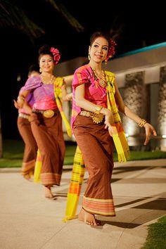 Thai Dance @The Racha, Ko Racha Yai, Phuket, Thailand