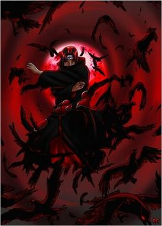 Naruto - Itachi And Crows