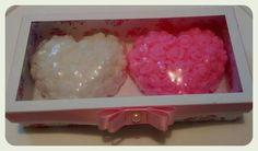 Aroma no Ar <3  Caixa com corações. Sabonetes artesanais. Valor = 20,00