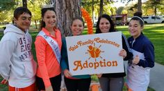 Miss Eagle Mountain, competing for the title of Miss America, is a huge advocate for adoption.  Four years ago she discovered that her mother is actually a birth mother and that she had an older sister.  Read her beautiful story!